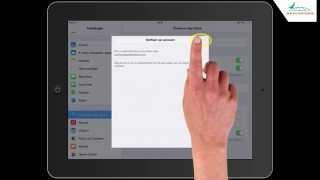 iPad: Apple ID aanmaken