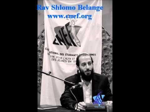 CNEF - Rav Shlomo Belange - Am Israel, peuple de genie, et alors ?