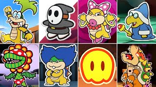 Paper Mario: Color Splash - All Bosses