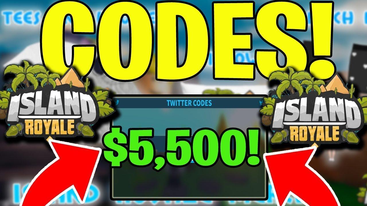 Island Royale New Codes 5 500 Bucks Roblox Working