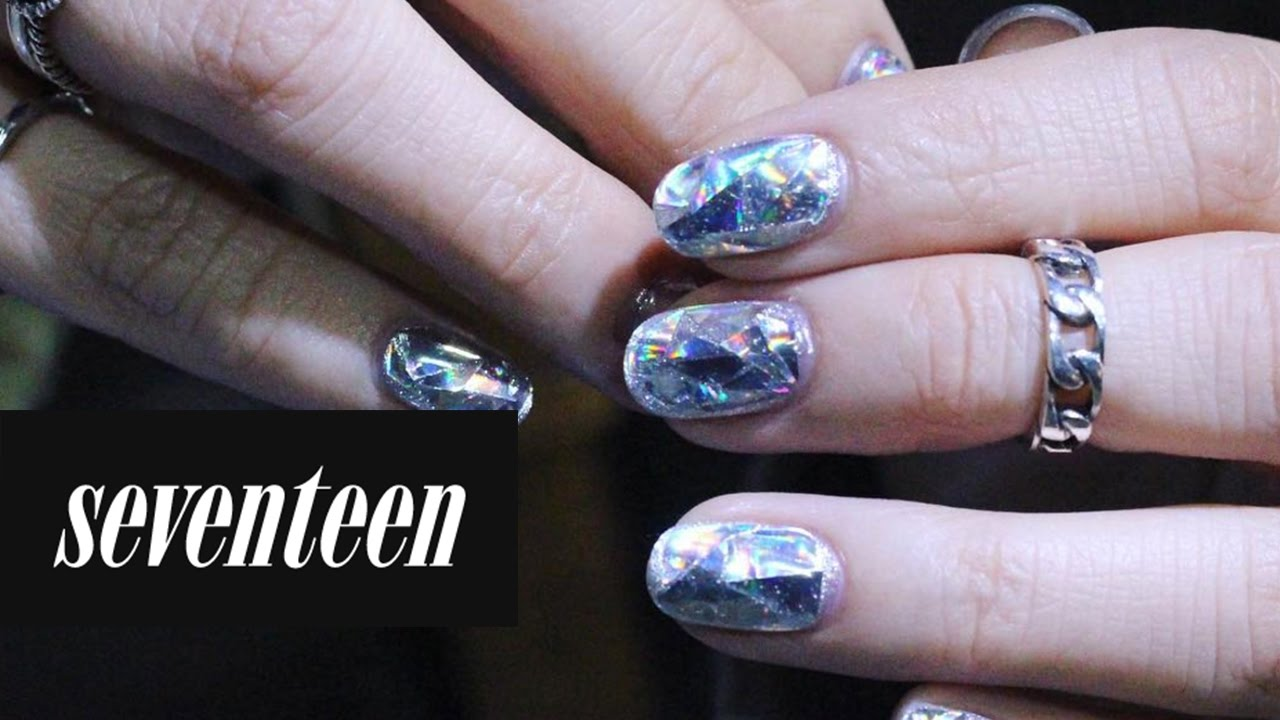 These Diamond Nails Are Taking Nail Art to a Whole New Level - YouTube