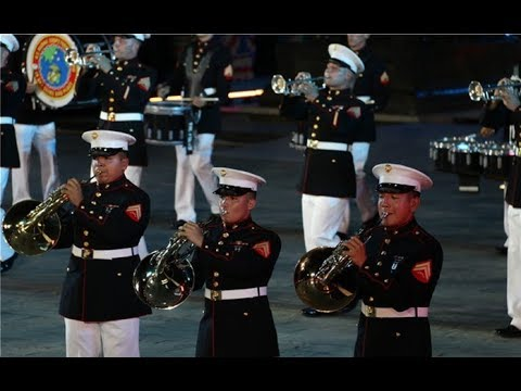 Theme concert of 5th Nanchang International Military Tattoo - U.S. Marine Corps Forces Pacific Band