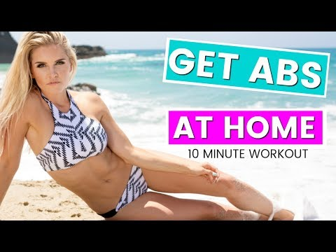 How to Get The Best Abs Ever Home Workout | Rebecca Louise
