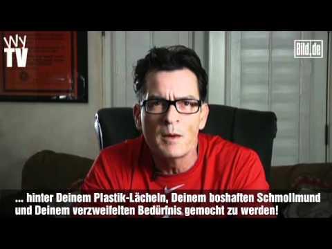 Charlie Sheen beschimpft Chuck Lorre
