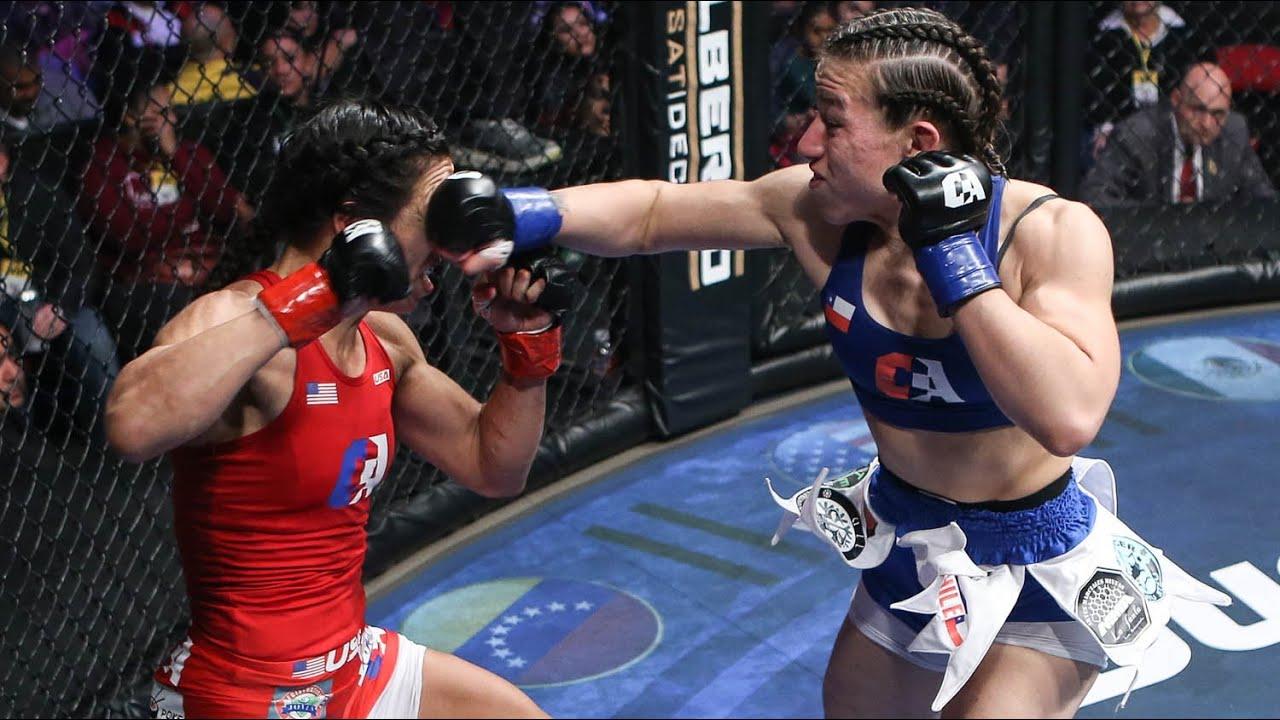 Caroline Gallardo vs Corina Herrera Full Fight | MMA | Combate Fresno