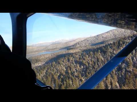 Flying from hawk inlet alaska to juneau