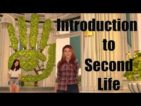 Intro to Second Life Part 1 – Creating an Account & Moving Around