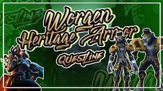 FIRST LOOK: Worgen Heritage Armor Questline│GOING INTO THE EMERALD DREAM│Battle for Azeroth