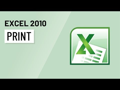 Excel 2010: Printing