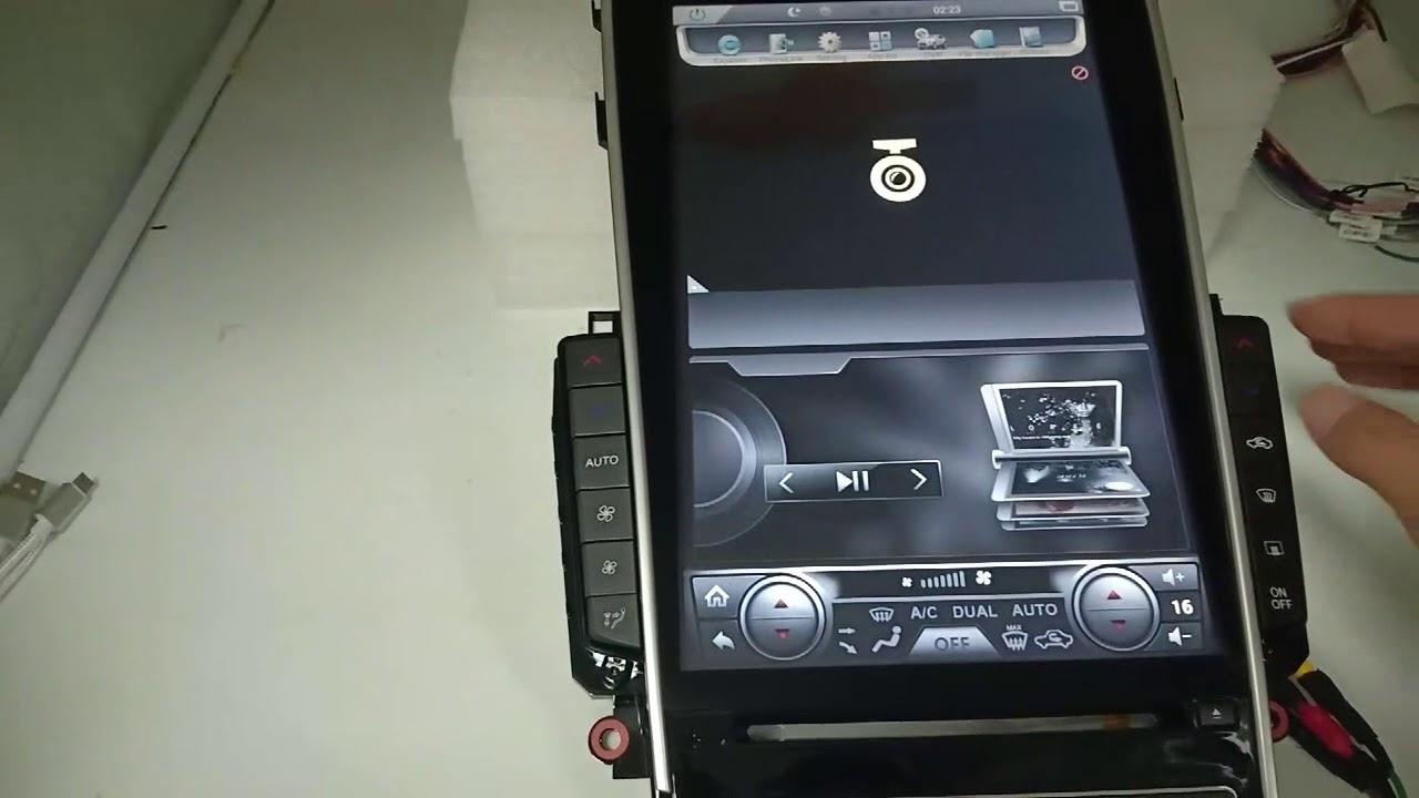 12 1` TESLA-STYLE VERTICAL SCREEN ANDROID NAVI RADIO FOR Infiniti Q50 Q60  Q50L Q50S by Espony Cargo