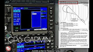 X Plane 10 Android HD/Cessna 172 SP/GPS Garmin¡¡