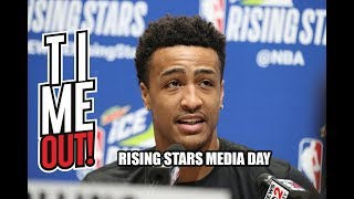Time Out #220 Rising Stars Media Day! Interview With John Collins & Deandre Ayton!