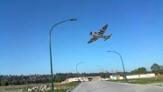 e flite p 47d thunderbolt good sunny day flight