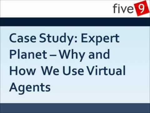 Case Study: Why and How  We Use Virtual Agents