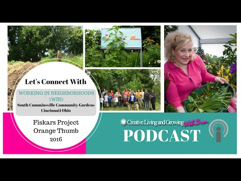 Fiskars Project Orange Thumb 2016 : Recipient WIN in Cincinnati Ohio