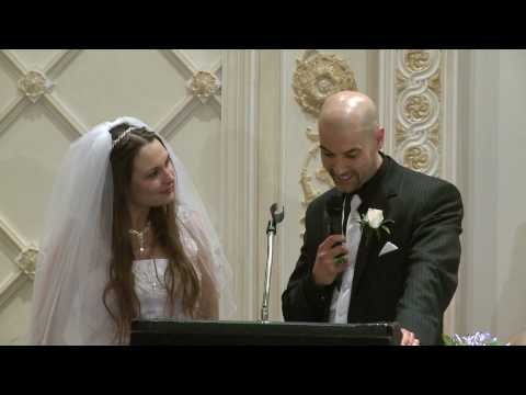 Funny Bride and Groom Wedding Speech at Paradise Banquet Hall Toronto | GTA Wedding Videographer