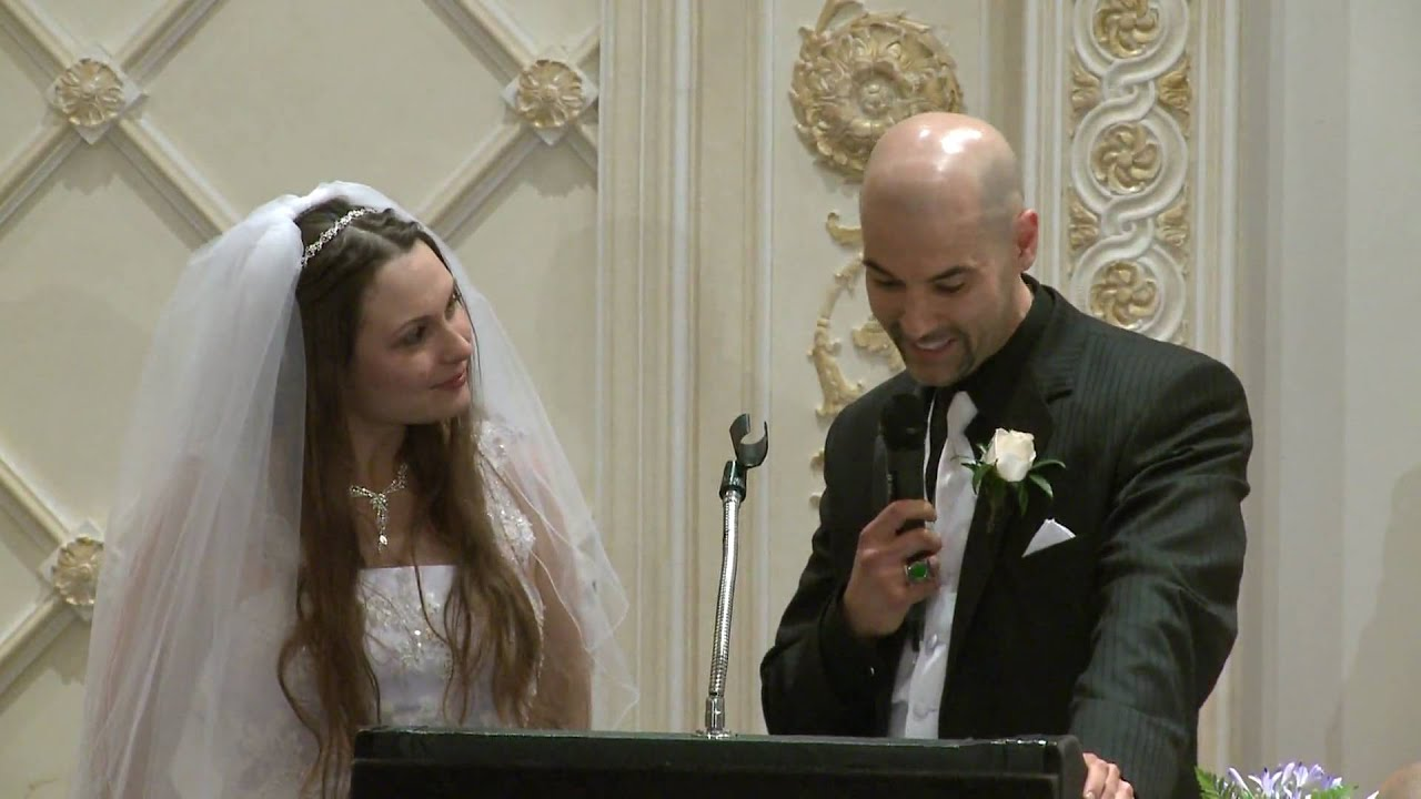 Grooms Speech To Bride Examples: Funny Bride And Groom Wedding Speech At Paradise Banquet