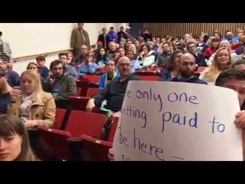 Town Hall Meeting with Glenn Thompson PSU 2 25 2017 by Marc Friedenberg
