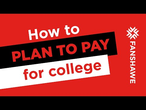 How should I plan to pay for college?