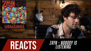 Producer Reacts to ENTIRE Zayn Album - Nobody Is Listening