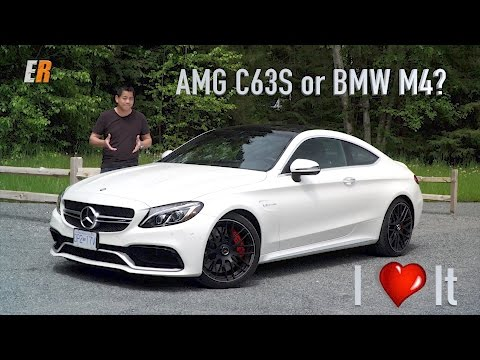 2017 Mercedes AMG C63S Review  - Better than the BMW M4?