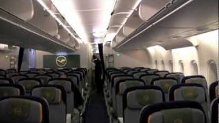 Lufthansa A380 Flight from Johannesburg to Frankfurt (HD)