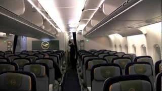Lufthansa A380 Flight from Johannesburg to Frankfurt (HD)