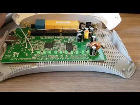 Как разобрать роутер TP-LINK TL-MR3420 и TL-MR3220