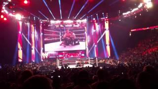 Raw 4/8: Y2J interferes in Fandango's match. Chants of Lionheart and Fandango theme