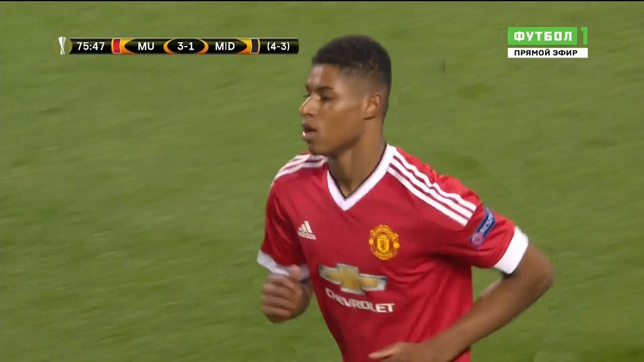 The Match That Made Marcus Rashford Youtube