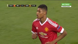 The Match That Made Marcus Rashford