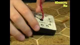Сигнализатор без радиодеталей