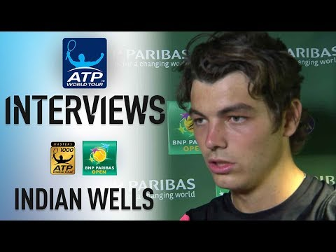 Fritz Elated To Get Past Verdasco In Indian Wells 3R 2018
