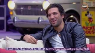 شاهد.. حسن الرداد يقلد سالي شاهين بطريقة كوميدية