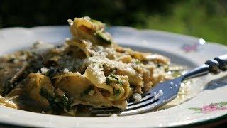 Как приготовить домашнюю Пасту | Итальянский Соус Песто Рецепт | How To Make Homemade Pasta Pesto