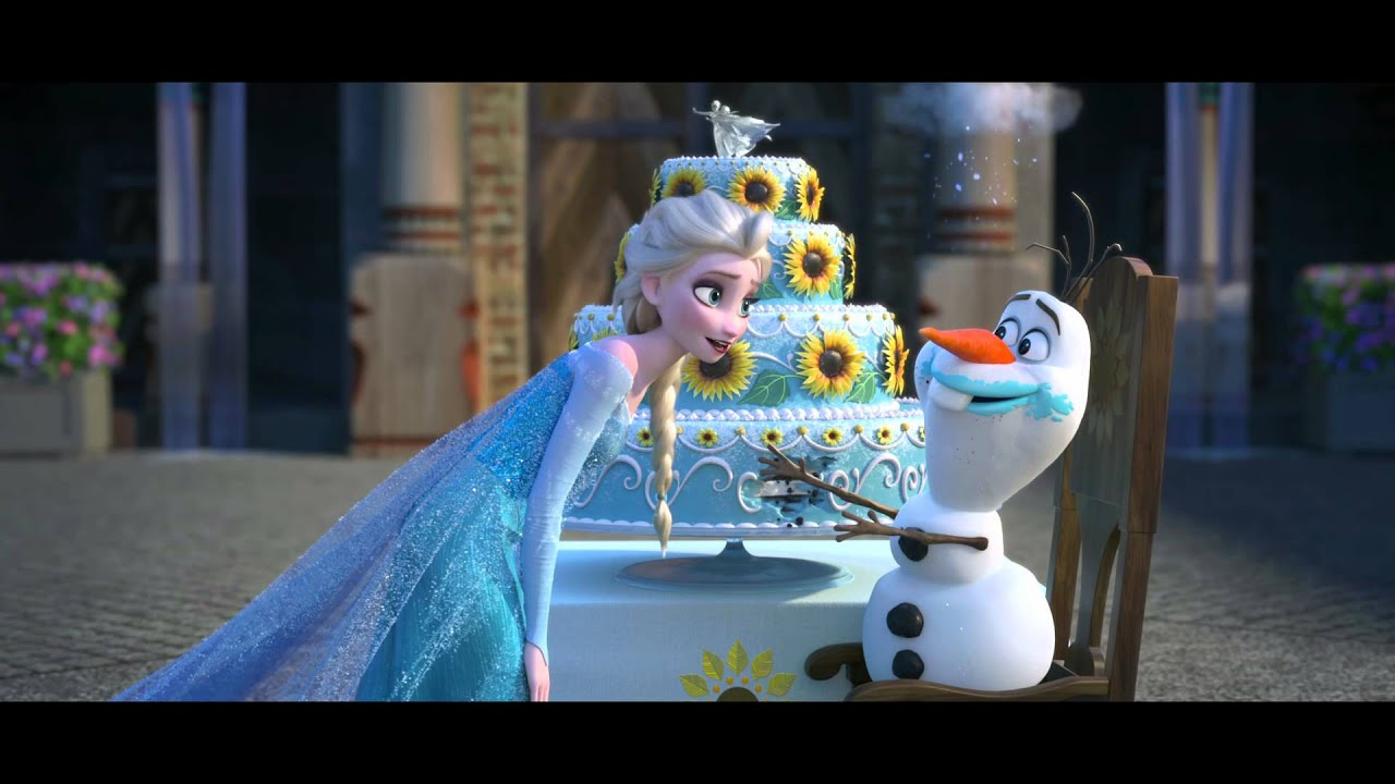 Cenicienta Corto Frozen Fever Disney Oficial Youtube