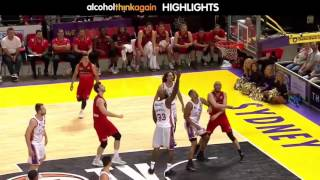 Perth WIldcats @ Sydney Kings Highlights - 7 January 2017