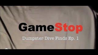 GameStop Dumpster Dive Finds Ep. 1