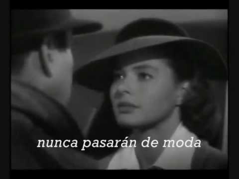 casablanca- as time goes by- versión original de Dooley Wilson(subtitulos en español)