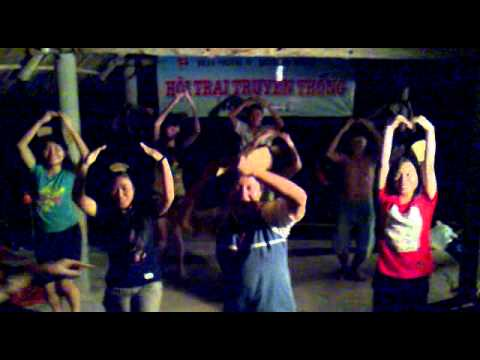Múa dân vũ 3 chú gấu - Tiểu trại 3