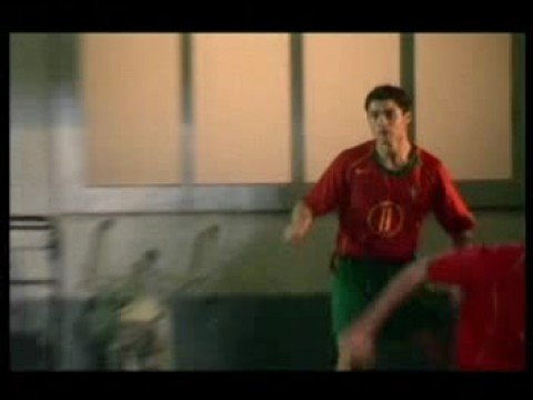 Nike Soccer Commercial---Brazil vs. Portugal