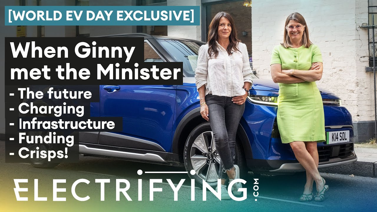 In The Driver's Seat With: Rachel Maclean MP – World EV Day Exclusive / Electrifying