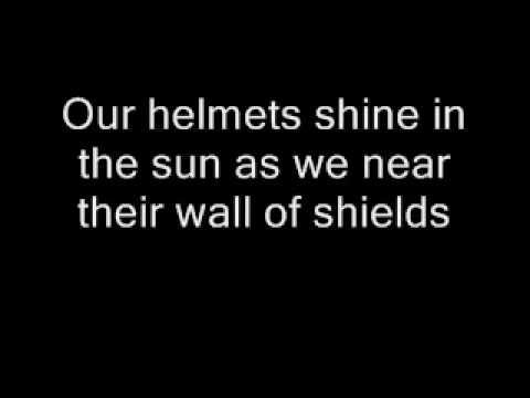 Amon Amarth - Cry Of The Blackbirds with lyrics