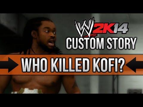 """WWE 2K14 Story - """"Who Killed Kofi"""" (Start/End) - Custom Story in WWE 2K14"""