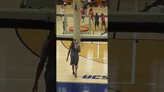 Christian's first basketball camp: 2017 MJFS basketball action