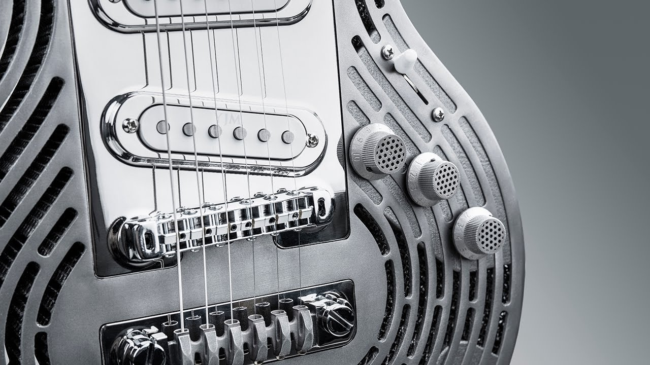 Sandvik Let's Create: How it's Made - The World's First 3D printed Smash-Proof Guitar