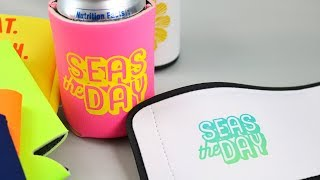 Making Can Koozies with Cricut Infusible Ink