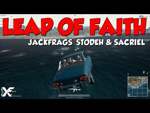 Leap of Faith - Battlegrounds New Patch w/ Jackfrags, Stodeh and Sacriel