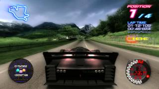 Ridge Racer 6 Final Route (Using the Crinale)