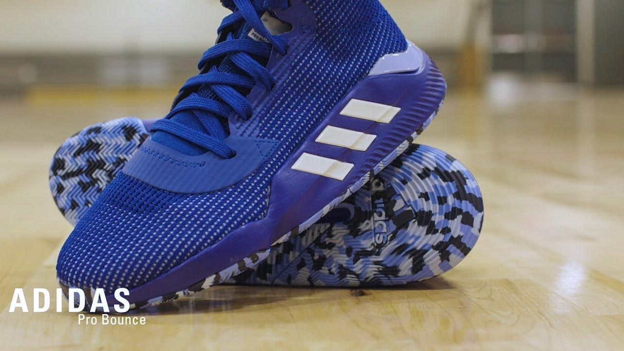 adidas Pro Bounce Basketball Shoe